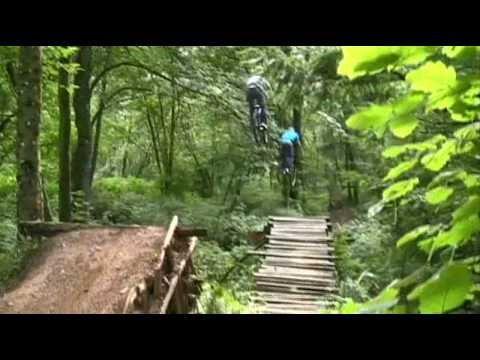 Insane Mountain Bike Train Huge Gaps Youtube