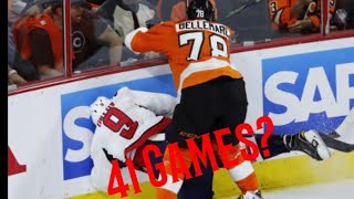 NHL 10+ Game Suspensions