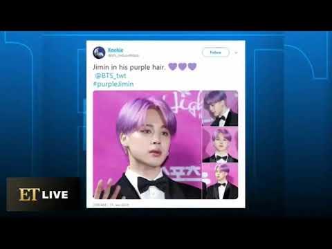BTS Jimin (지민  )Entertainment Tonight