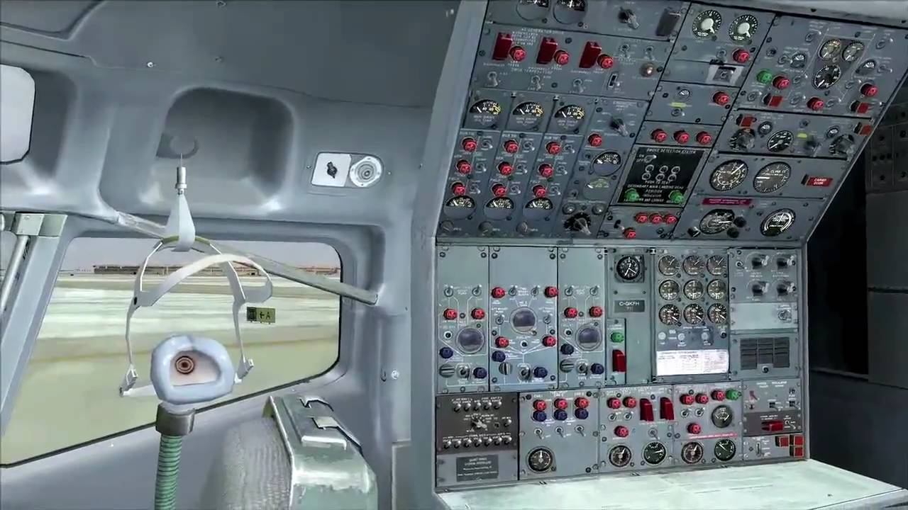 Boeing 727 for FSX from CaptainSim
