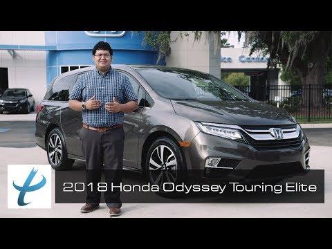 2018 Honda Odyssey Touring Elite Walkaround and Review (NEW)