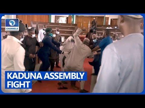 Kaduna Lawmakers Exchange Blows As Deputy Speaker Impeached
