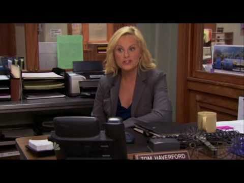 Parks and Recreation - Leslie Imitates Tom