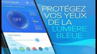 Les effets de la lumière bleue de nos écrans.
