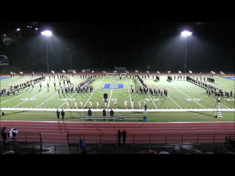 Pitt Band at Brentwood HS 9/19/2015