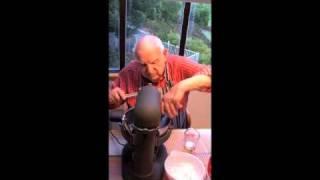 Grandpa Cooks Cherry Delight Pie