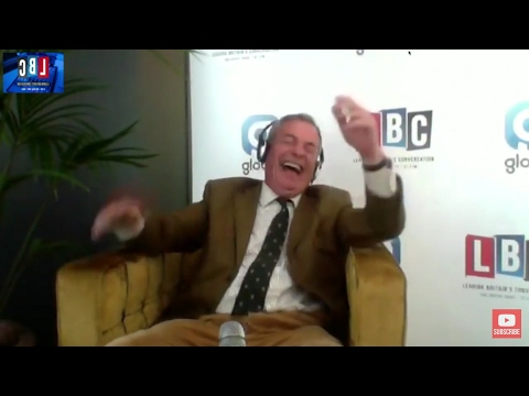 The Nigel Farage Show: Trump v Khan. Live from Normandy LBC - 6th June 2017