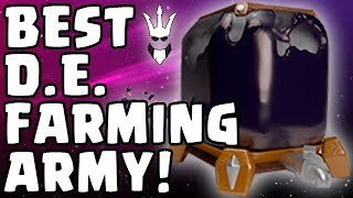THE BEST ARMY FOR DARK ELIXIR FARMING - ANY TOWN HALL - Clash of Clans - Best DE Farming Army
