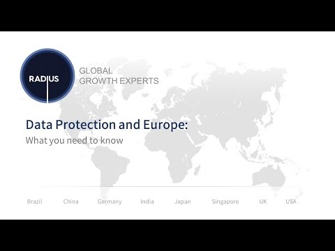 Data Protection and Europe: What you need to know