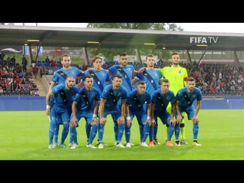 Kosovo Take Pitch in First International
