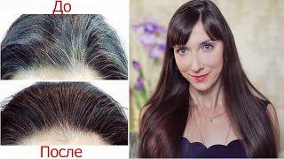 Волосы: НЕТ СЕДИНЕ / Голубая Маска для Волос(Предупреждаем раннюю седину волос в домашних условиях. Плюс отращиваем волосы которые будут иметь здоровы..., 2016-10-26T04:00:02.000Z)