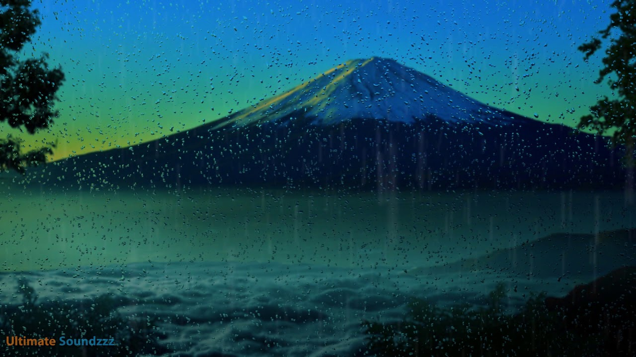 Rain Sounds At Mt Fuji Japan  Ambient Noise For Better -7482