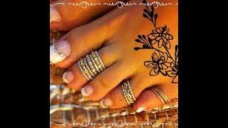 Designer Toe Rings Designs in 2019 | unique toe rings