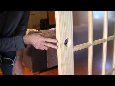 How To Install French Doors Youtube