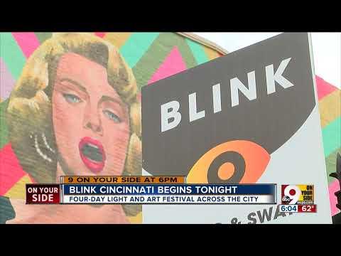 Parade of lights to kick off BLINK Cincinnati