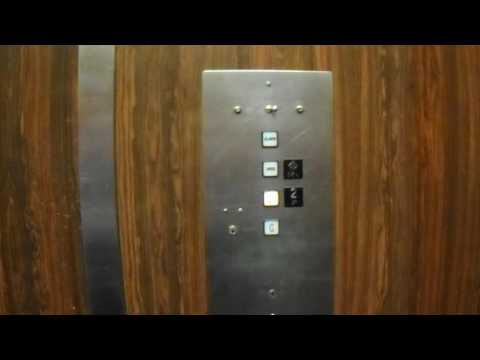 Vintage Montgomery G&P Hydraulic Elevator - Wick Student Center - Daemen College - Amherst, NY