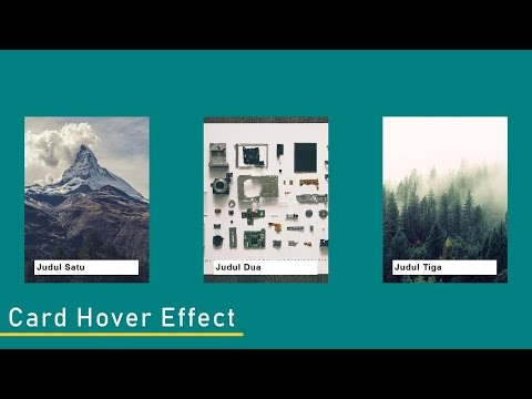 Card Hover Effect 3 | HTML CSS