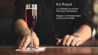 Kir Royal - Velkomst Cocktail