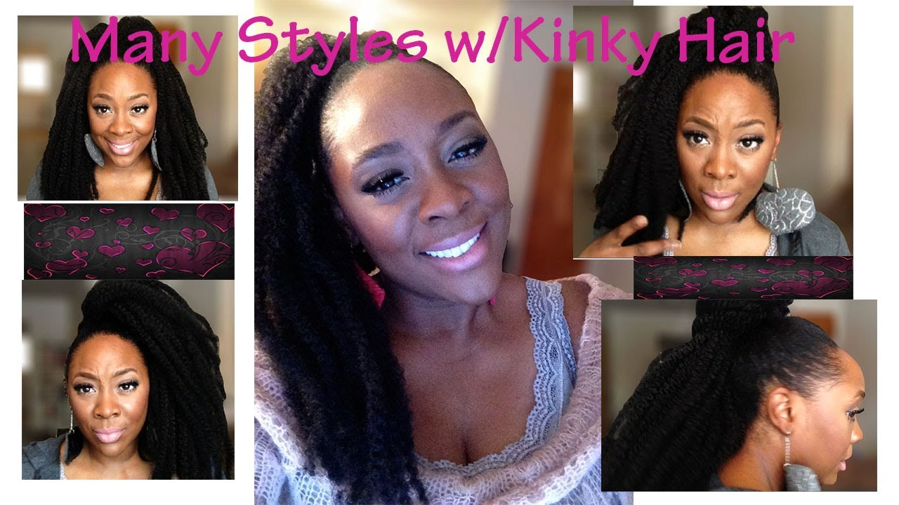 ponytail tutorial (natural hair) ♥quick and easy natural