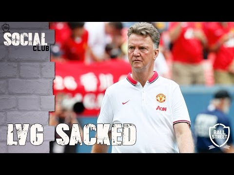LVG SACKED – HAS HE BEEN TREATED FAIRLY?   SOCIAL CLUB with @unitedpeoplesTV