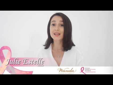 Julie Estelle Support Breast Cancer Awareness Campaign