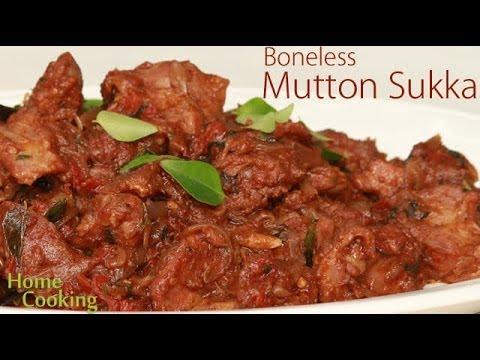 Mutton Sukka   Ventuno Home Cooking