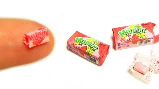Real Miniature Mamba Candy DIY