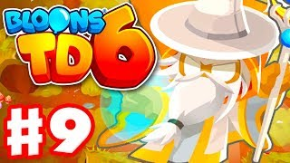 Archmage! Tier 5 Wizard Monkey! - Bloons TD 6 - Gameplay Walkthrough Part 9