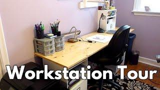 My Art Workstation Tour