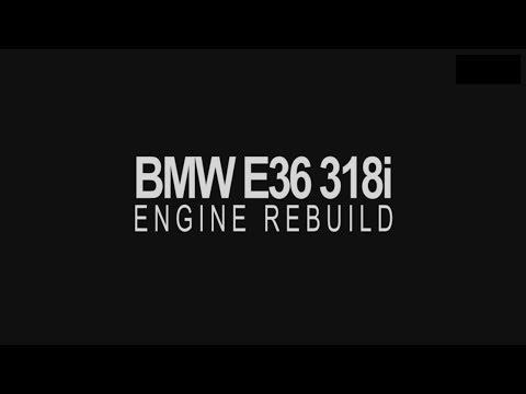 BMW E36 318i ENGINE REBUILD | PART 1 | TIMELAPSE