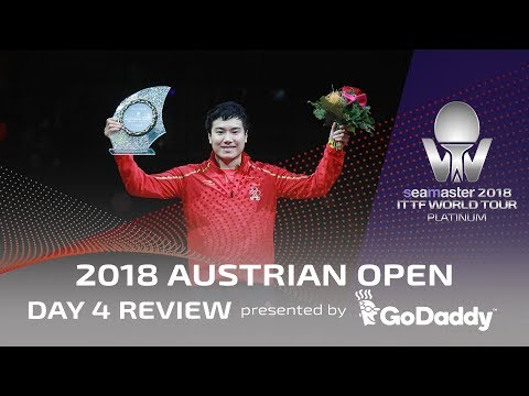 Day 4 Review presented by GoDaddy | 2018 ITTF Austrian Open