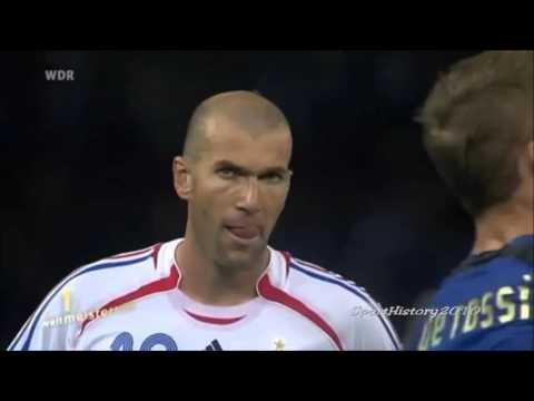 Zidane Kopfstoß - WM 2006