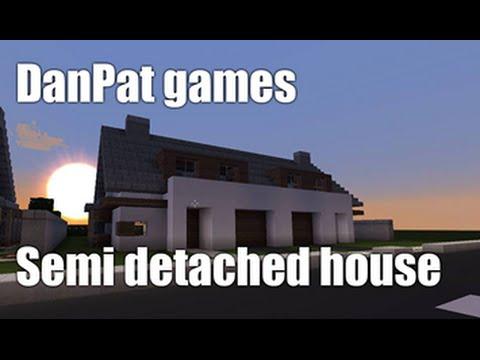 Minecraft let's build - Semi Detached House [PL]