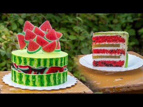Торт 🍉АРБУЗ 🍉