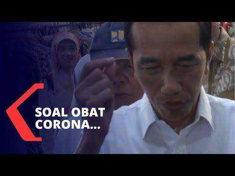 Jokowi Soal Obat Corona: 2 Juta Avigan dan 3 Juta Klorokuin Dipesan