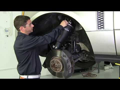Replacing the Front Air Spring on a 03-12 Range Rover L322 with an Arnott Air Spring