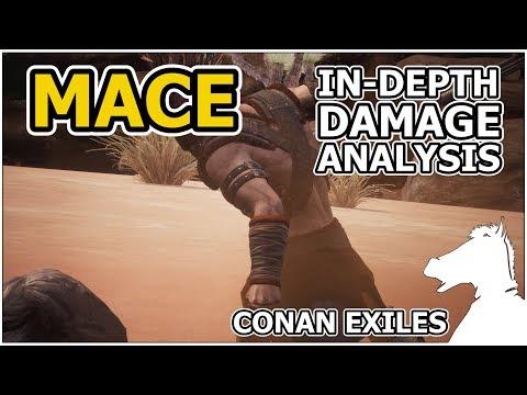 Mace In-Depth Damage Analysis | CONAN EXILES