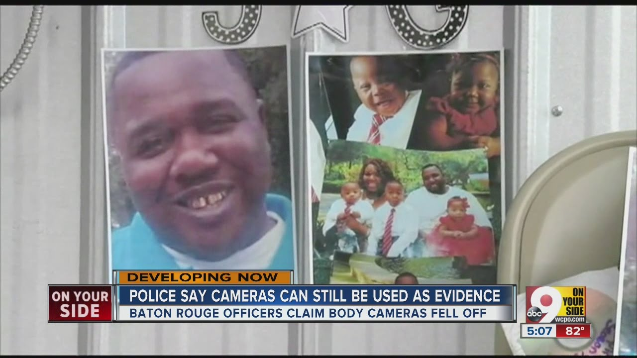 police says cameras can still be used as evidence in alton sterling case youtube