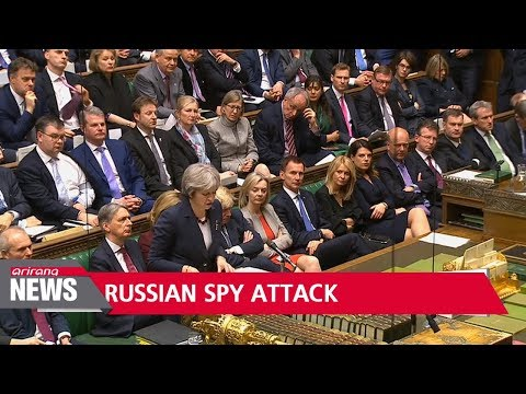 Britain expels 23 Russian diplomats over spy poisoning
