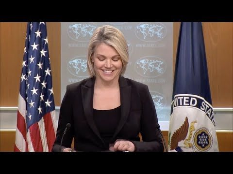 U.S.  Heather Nauert  -  Russia has 'Lots of Tentacles' a 'Deep Sea Beast'