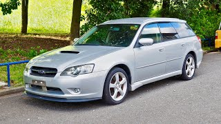 2003 Subaru Legacy 2.0GT (Canada Import) Japan Auction Purchase Review