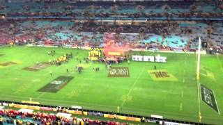 "British & Irish Lions fans sing ""Delilah"""