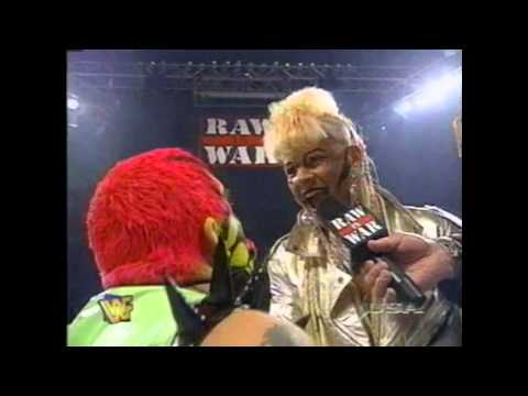 bizarre goldust and luna vachon promo from wwf raw 1997