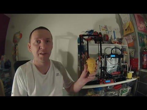 Bilan Kossel Mini Imprimante 3d Delta
