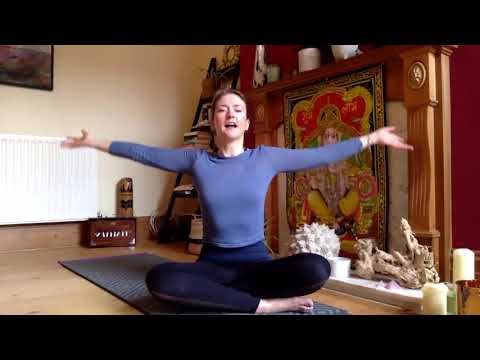 Bellows Breath With Heart Wings Garuda Mudra & Meditation & Easy Movement For Your Day