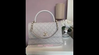 Chanel coco handle medium size 19P Unboxing 4b33692ff98a4
