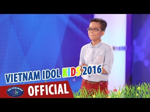 VIETNAM IDOL KIDS - THẦN TƯỢNG ÂM NHẠC NHÍ 2016 - TẬP 2 - SÔNG DAKRONG MÙA XUÂN VỀ - HẢI THANH
