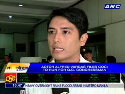 actor alfred vargas files coc to run for qc congressman