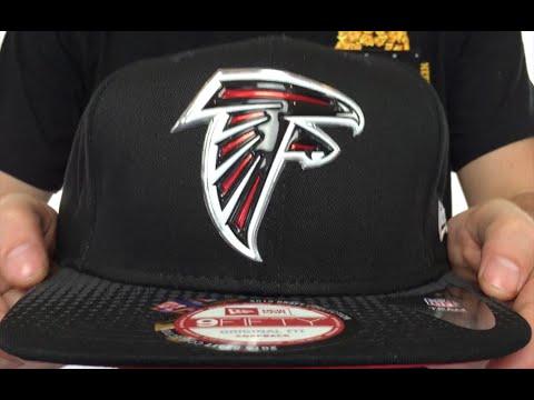 e1bb9c5a Falcons '2015 NFL DRAFT SNAPBACK' Black Hat by New Era