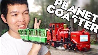 ជិះរថភ្លើងជុំវិញ TK Park  - Planet Coaster | វគ្គ 6